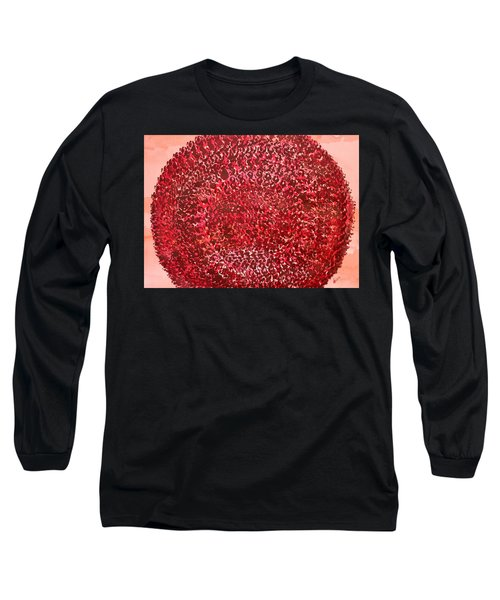 Mandala Sun Original Painting Long Sleeve T-Shirt