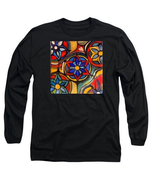 Mandalas Vintage Long Sleeve T-Shirt