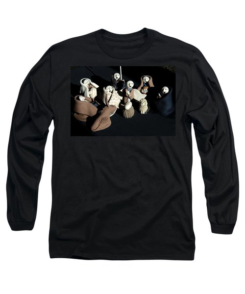 Manger Long Sleeve T-Shirt by Ron White