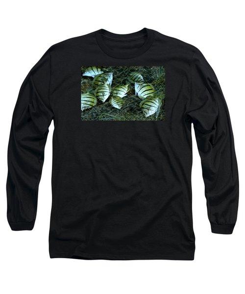 Manini Catch Long Sleeve T-Shirt by Lehua Pekelo-Stearns