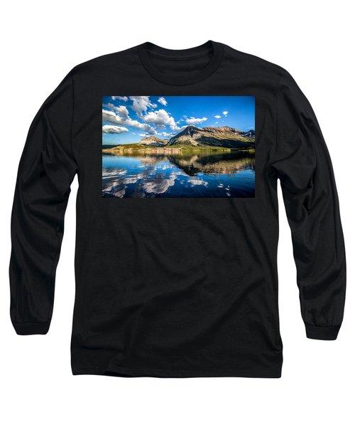 Many Glacier Hotel Long Sleeve T-Shirt