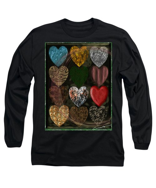 Many Types Of Love Long Sleeve T-Shirt