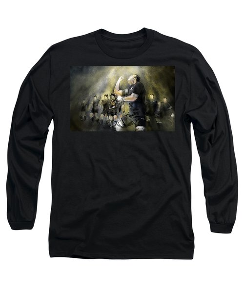 Maori Haka Long Sleeve T-Shirt by Miki De Goodaboom