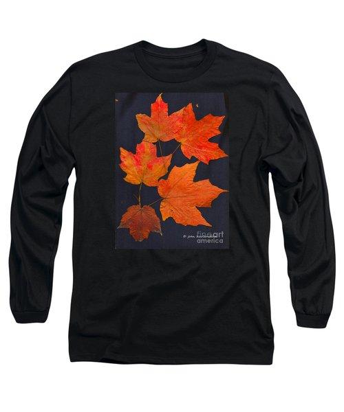Maple Leaf Tag II Long Sleeve T-Shirt