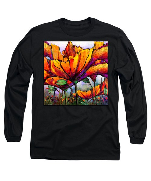 March Of The Poppies Long Sleeve T-Shirt