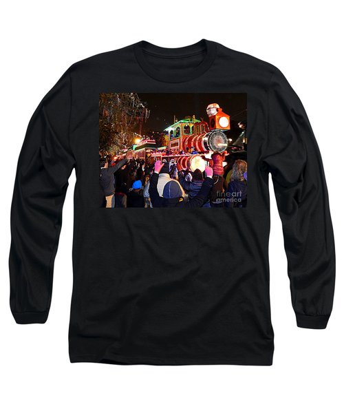New Orleans Mardi Gras 2014 Orpheus Super Float Smokey Mary Long Sleeve T-Shirt