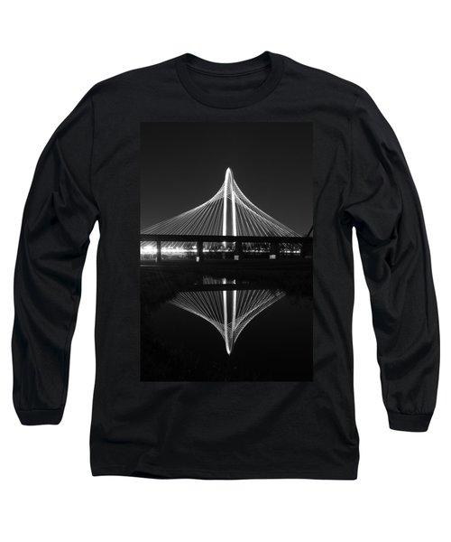 Margaret Hunt Hill Bridge Reflection Long Sleeve T-Shirt