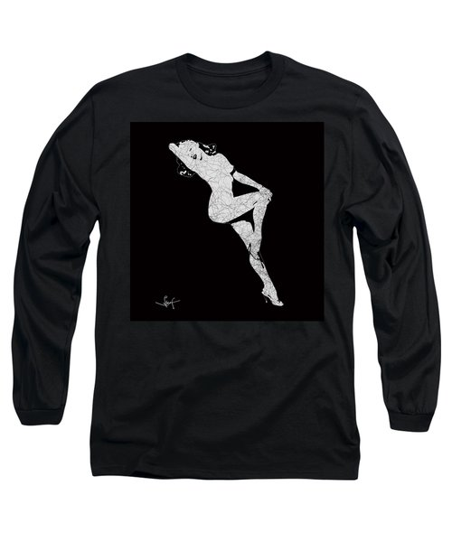 Marilyn Monroe The Lightning Long Sleeve T-Shirt