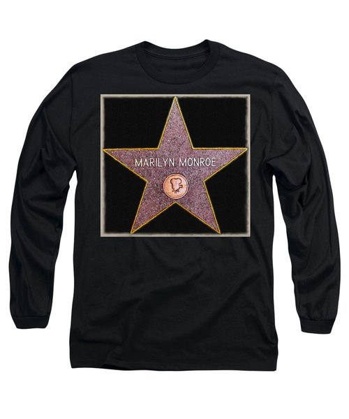 Marilyn Monroe's Star Painting  Long Sleeve T-Shirt