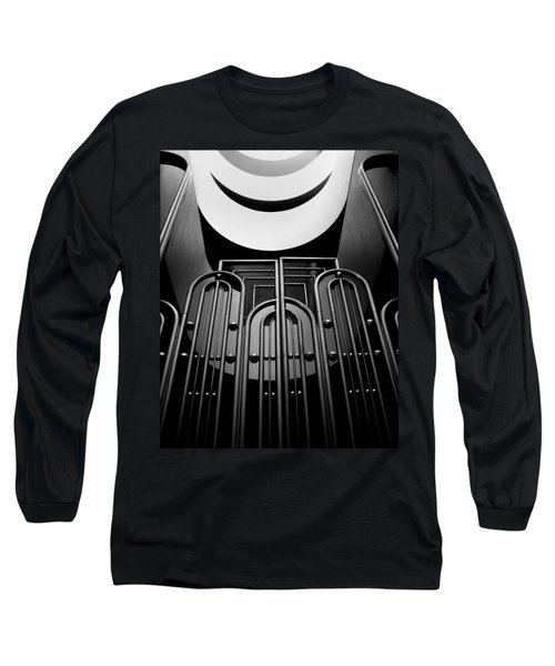 Marin County Government Complex Gate Long Sleeve T-Shirt by Jeff Brunton