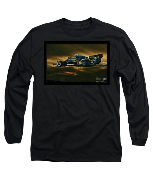 Mario Andretti John Player Special Lotus 79  Long Sleeve T-Shirt