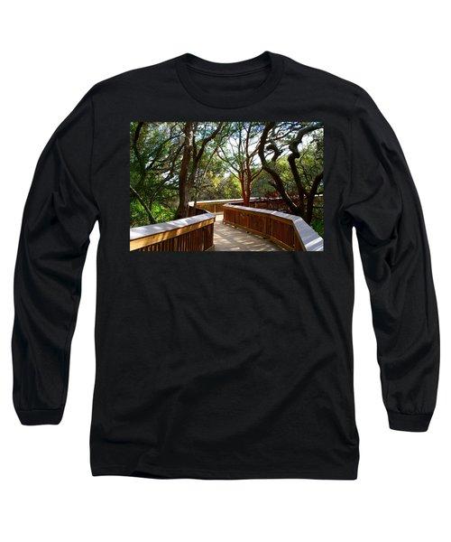 Maritime Forest Boardwalk Long Sleeve T-Shirt