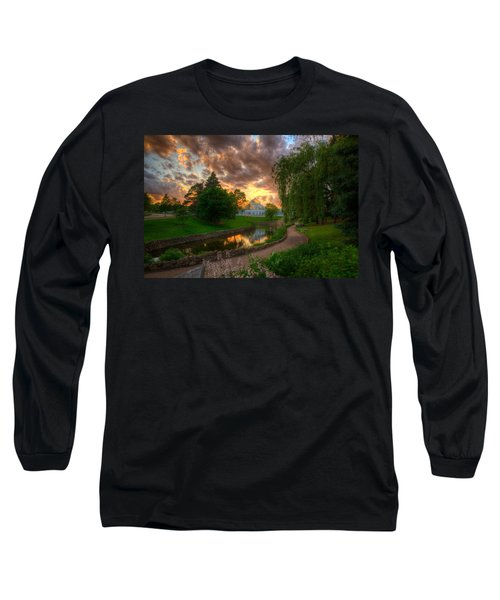 Marjorie Mcneely Conservatory Reflections Long Sleeve T-Shirt