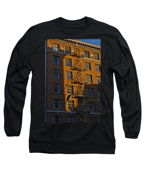 Market Street Area Building 4 Long Sleeve T-Shirt