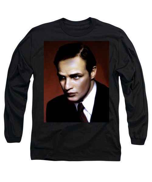 Marlon Brando Tribute Long Sleeve T-Shirt