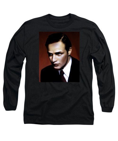 Marlon Brando Tribute Long Sleeve T-Shirt