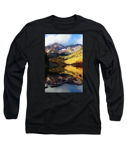 Maroon Bells Autumn Long Sleeve T-Shirt