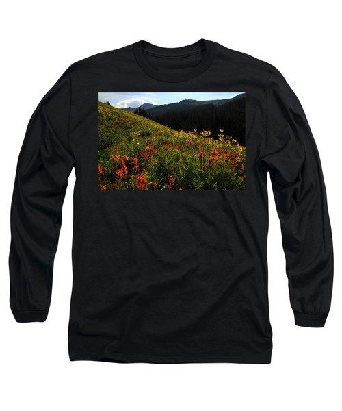 Maroon Bells Wilderness Long Sleeve T-Shirt