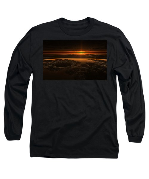 Marscape Long Sleeve T-Shirt by GJ Blackman