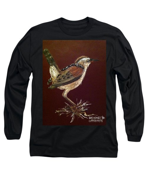 Marsh Wren Long Sleeve T-Shirt