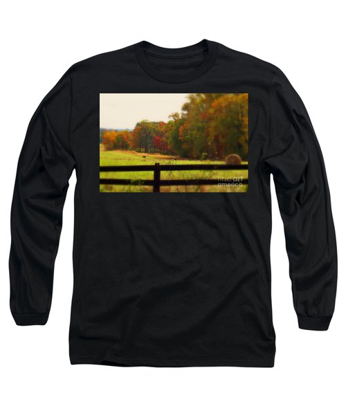 Maryland Countryside Long Sleeve T-Shirt by Patti Whitten