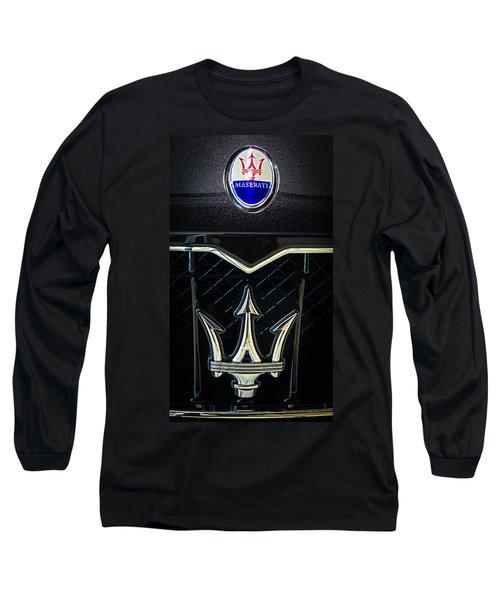 Maserati Badge Long Sleeve T-Shirt
