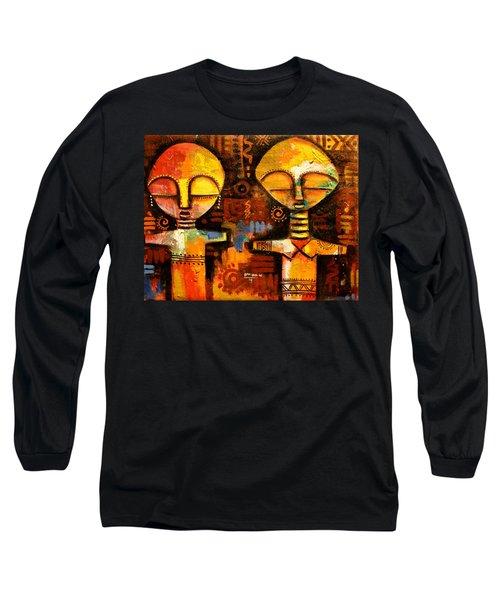 Mask 5 Long Sleeve T-Shirt