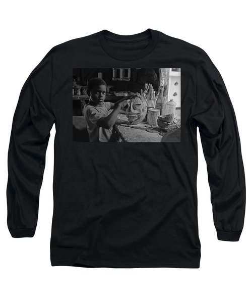 Mask Maker Long Sleeve T-Shirt