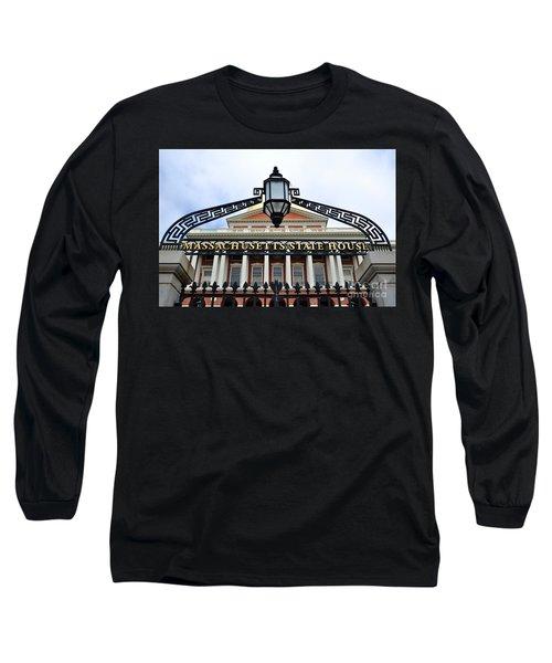 Massachusetts State House Long Sleeve T-Shirt