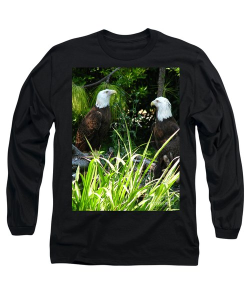 Long Sleeve T-Shirt featuring the photograph Mates by Greg Patzer