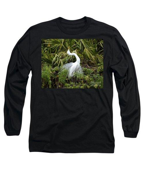 The Devine Ms E Long Sleeve T-Shirt by Carol  Bradley