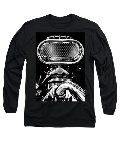 Maximum Rpm Long Sleeve T-Shirt by Steven Milner