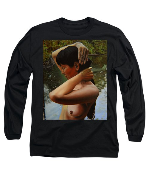 May Morning Arkansas River 3 Long Sleeve T-Shirt