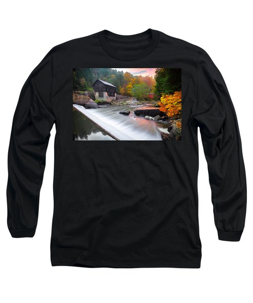 Mcconnell's Mill Fall  Long Sleeve T-Shirt