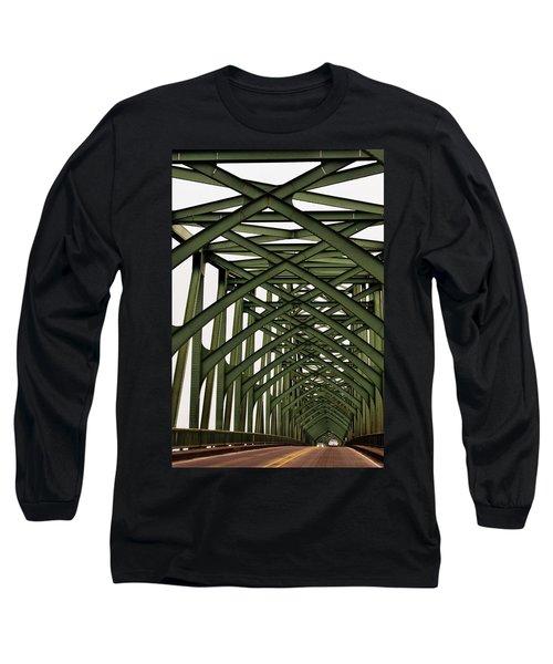 Mccullough Memorial Bridge Long Sleeve T-Shirt