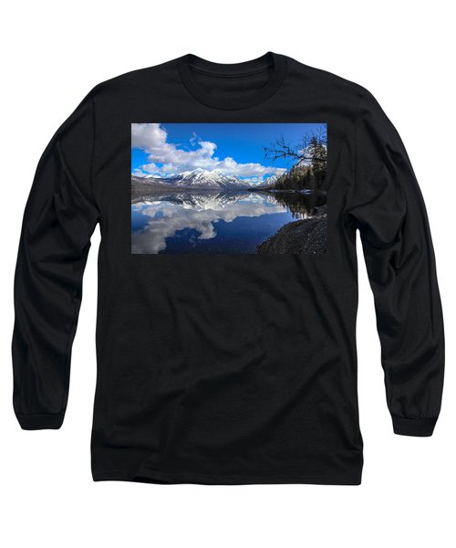 Mcdonald Reflecting Long Sleeve T-Shirt by Aaron Aldrich