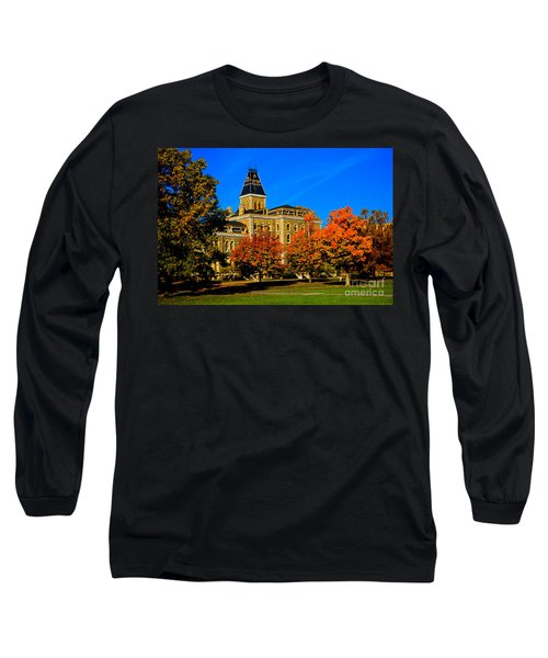 Mcgraw Hall Cornell University Long Sleeve T-Shirt