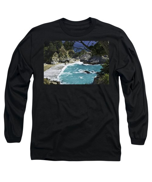Mcway Falls - Big Sur Long Sleeve T-Shirt