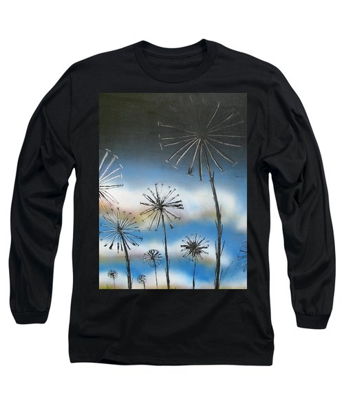 Meadow At Dawn Long Sleeve T-Shirt