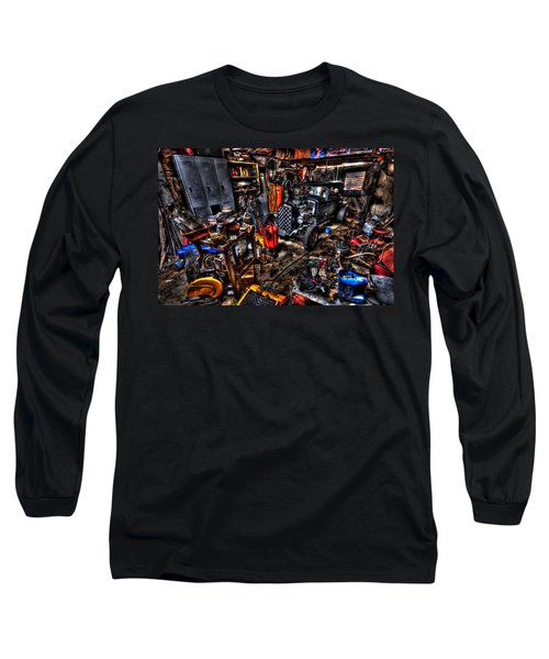 Mechanics Garage Long Sleeve T-Shirt