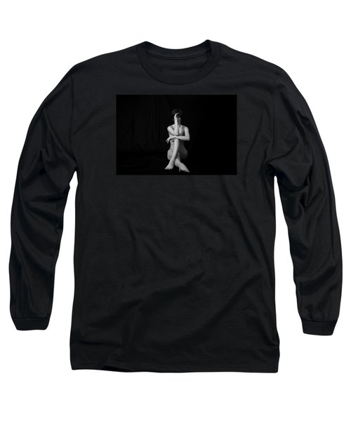Long Sleeve T-Shirt featuring the photograph Meditation by Mez