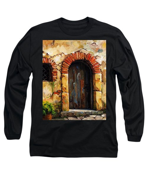 Mediterranean Portal 02 Long Sleeve T-Shirt