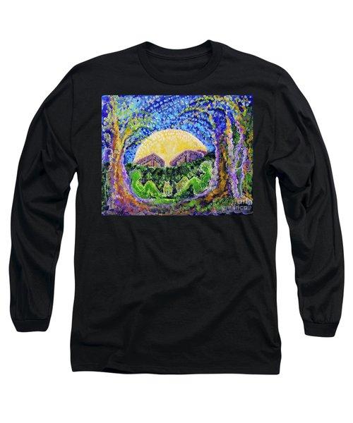 Meet Me Long Sleeve T-Shirt by Holly Carmichael