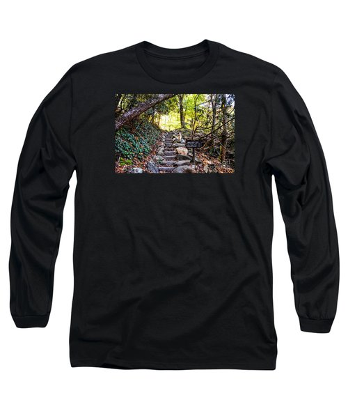 Long Sleeve T-Shirt featuring the photograph Meigs Creek Trailhead by Paul Mashburn