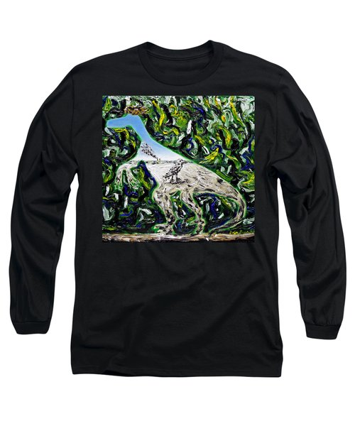 Memetic Process Long Sleeve T-Shirt by Ryan Demaree