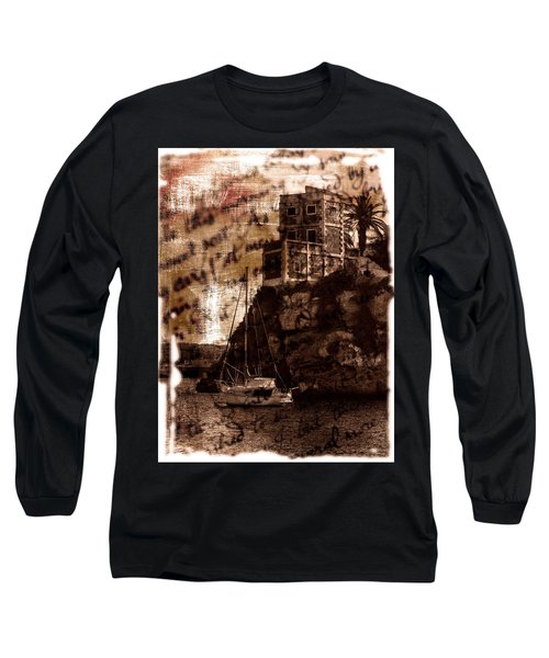 Long Sleeve T-Shirt featuring the photograph Memories By The Sea by Pedro Cardona
