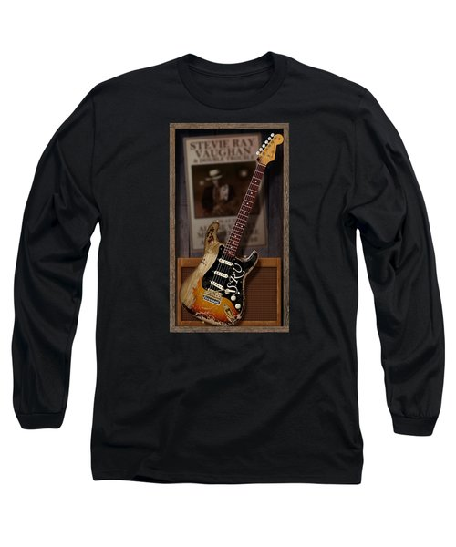 Long Sleeve T-Shirt featuring the digital art Memories Of Stevie by WB Johnston
