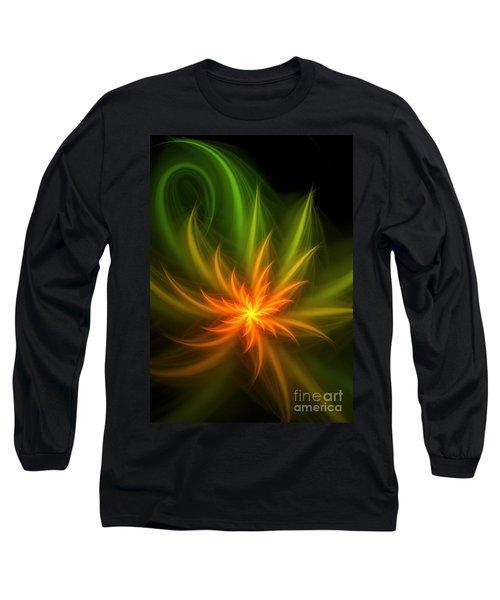 Long Sleeve T-Shirt featuring the digital art Memory Of Spring by Svetlana Nikolova