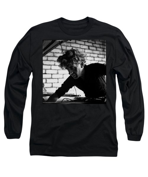 Long Sleeve T-Shirt featuring the photograph Men At Work - Series I by Doc Braham