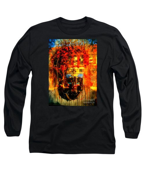 Mental Void Long Sleeve T-Shirt by Kelly Awad